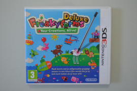 3DS Freakyforms Deluxe: Your Creations, Alive!