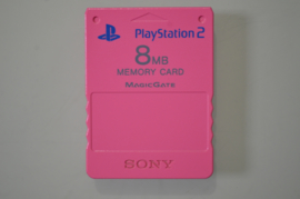 Playstation 2 Memory Card Candy Pink (8MB) - Sony