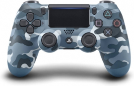 Playstation 4 Controller Wireless Dualshock V2 (Camouflage Blue) - Sony [Nieuw]