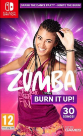 Switch Zumba Burn it Up! [Pre-Order]