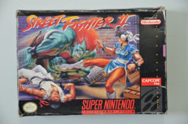 SNES Street Fighter II [Amerikaanse Import] [Compleet]