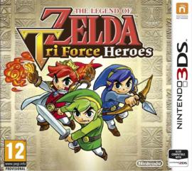 3DS The Legend of Zelda Tri Force Heroes [Nieuw]