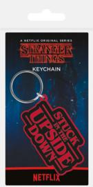 Stranger Things Sleutelhanger Stuck In The Upside Down - Pyramid International [Nieuw]