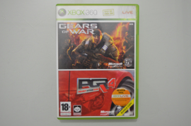 Xbox 360 Dubbelpack Gears of War + Project Gotham Racing 4
