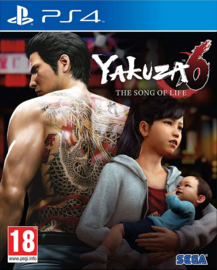 Ps4 Yakuza 6 The Song of Life Standard Edition [Nieuw]
