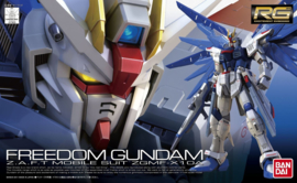 Gundam Model Kit RG 1/144 Freedom Gundam Z.A.F.T Mobile Suit ZGMF-X10A - Bandai [Nieuw]