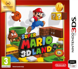 3DS Super Mario 3D land (Nintendo Selects) [Nieuw]