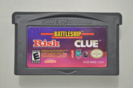 GBA Battleship, Risk & Cluedo