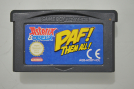 GBA Asterix & Obelix PAF! Them all!