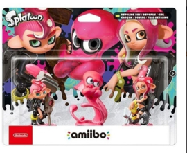 Amiibo Octoling 3-Pack - Splatoon Collection [Nieuw]