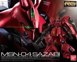 Gundam Model Kit RG 1/144 MSN-04 Sazabi - Bandai [Nieuw]