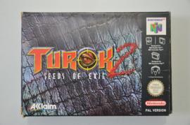 N64 Turok 2 Seeds Of Evil [Compleet]