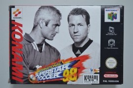 N64 International Superstar Soccer 98 [Compleet]