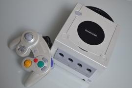 Gamecube Console Parelwit + 1 Controller