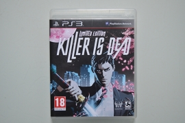 Ps3 Killer is dead Limited Edition