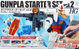 Gundam Model Kit HG 1/144 Gunpla Starter Set Vol.2 - Bandai [Nieuw]