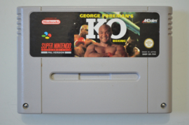 SNES George Foreman's K.O. Boxing