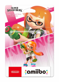 Amiibo Inkling Girl Splatoon - Super Smash Bros [Nieuw]