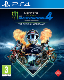 Ps4 Monster Energy Supercross 4 [Pre-Order]