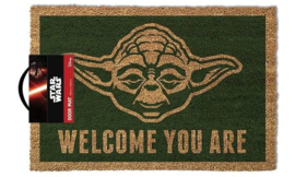 Star Wars Deurmat Yoda Welcome You Are - Pyramid International [Nieuw]