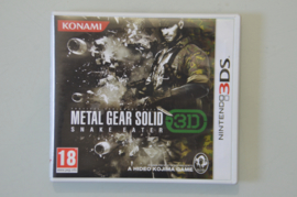 3DS Metal Gear Solid Snake Eater 3D