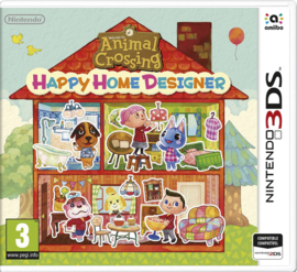 3DS Animal Crossing Happy Home Designer [Nieuw]