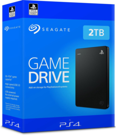 Seagate Game Drive Externe Harde Schijf (PS4 & PS5 - 2TB) [Nieuw]