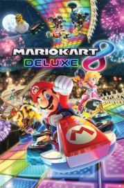 Nintendo Poster Mario Kart 8 Deluxe (61x91cm) - Pyramid International