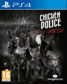 Ps4 Chicken Police Paint It Red! [Pre-Order]