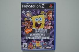 Ps2 SpongeBob en zijn Vrienden Aanval van de Speelgoedrobots