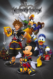 Kingdom Hearts Poster (61x91cm) - Pyramid International