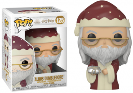 Harry Potter Funko Pop - Holiday Albus Dumbledore #125 [Nieuw]