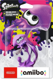 Amiibo Inkling Squid Neon Purple - Splatoon Collection [Nieuw]