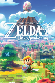 The Legend of Zelda Poster Link's Awakening (61x91cm) - Pyramid International