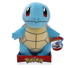 Pokemon Pluche Squirtle 30cm Wave 7 - Wicked Cool Toys [Nieuw]