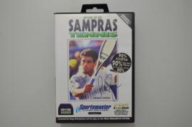 Mega Drive Pete Sampras Tennis [Compleet]