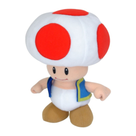 Nintendo Pluche Toad -  Together+ [Nieuw]