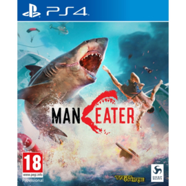 Ps4 ManEater (Day One Edition) (incl. Tiger Shark DLC) [Nieuw]