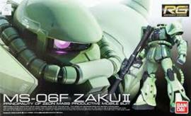 Gundam Model Kit HG 1/144 MS-06 Zaku II Principality Of Zeon Mass Productive Mobile Suit - Bandai [Nieuw]