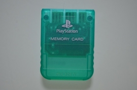 Playstation 1 Memory Card Groen (1MB) - Sony