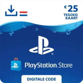 PlayStation Network - 25 Euro (NL)