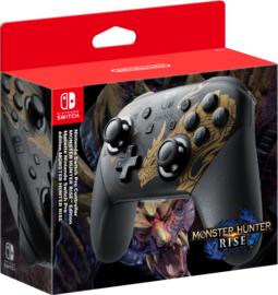Nintendo Switch Pro Controller Monster Hunter Rise Edition [Nieuw]