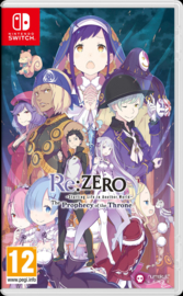 Switch Re ZERO Starting Life in Another World: The Prophecy of the Throne [Pre-Order]