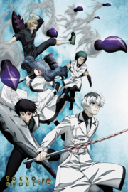 Tokyo Ghoul Poster (61x91cm) Key Art 2 - ABYStyle [Nieuw]