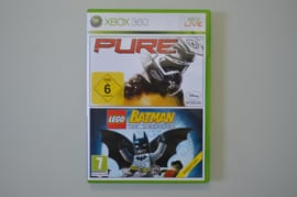 Xbox 360 Dubbelpack Pure / Lego Batman The Video Game
