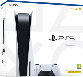 Playstation 5 Console met Disc Drive [Pre-Order]