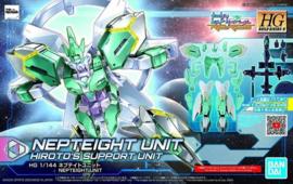 Gundam Model Kit HG 1/144 Build Divers Nepteight Unit Hiroto's Support Unit - Bandai [Nieuw]