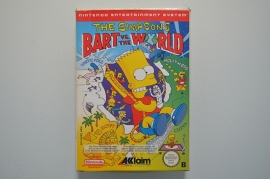 NES The Simpsons Bart vs The World [Compleet]