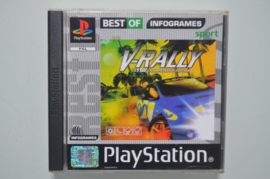Ps1 V-Rally (Best of Infogrames)