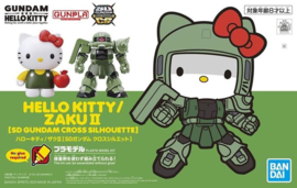 Gundam Model Kit SDC Hello Kitty MS-06S Char's Zaku II Green - Bandai [Nieuw]